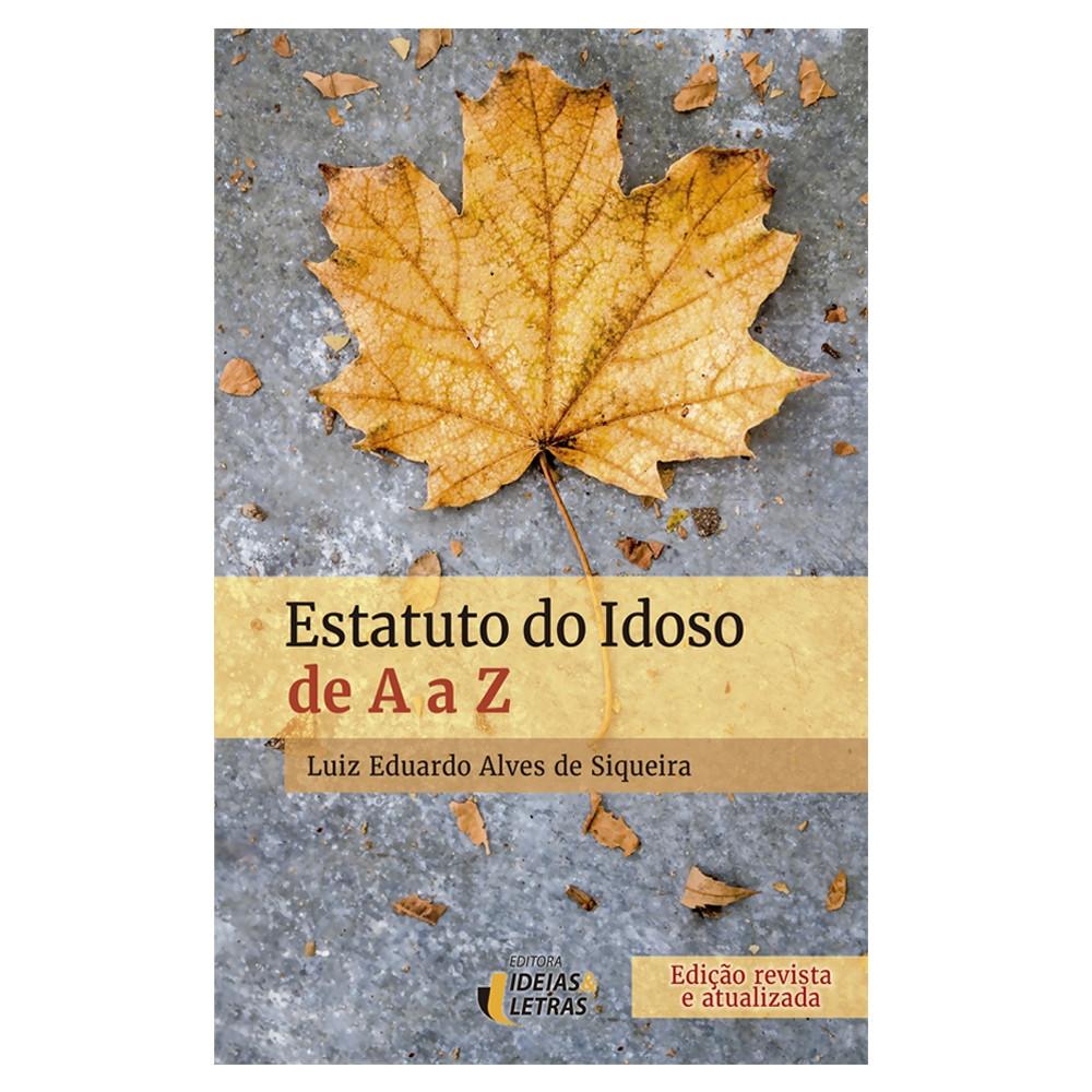 Autor  Luiz Eduardo Alves de Siqueira. (1 Avaliação). Estatuto de A a Z.  R 34 9a6eccff51a59