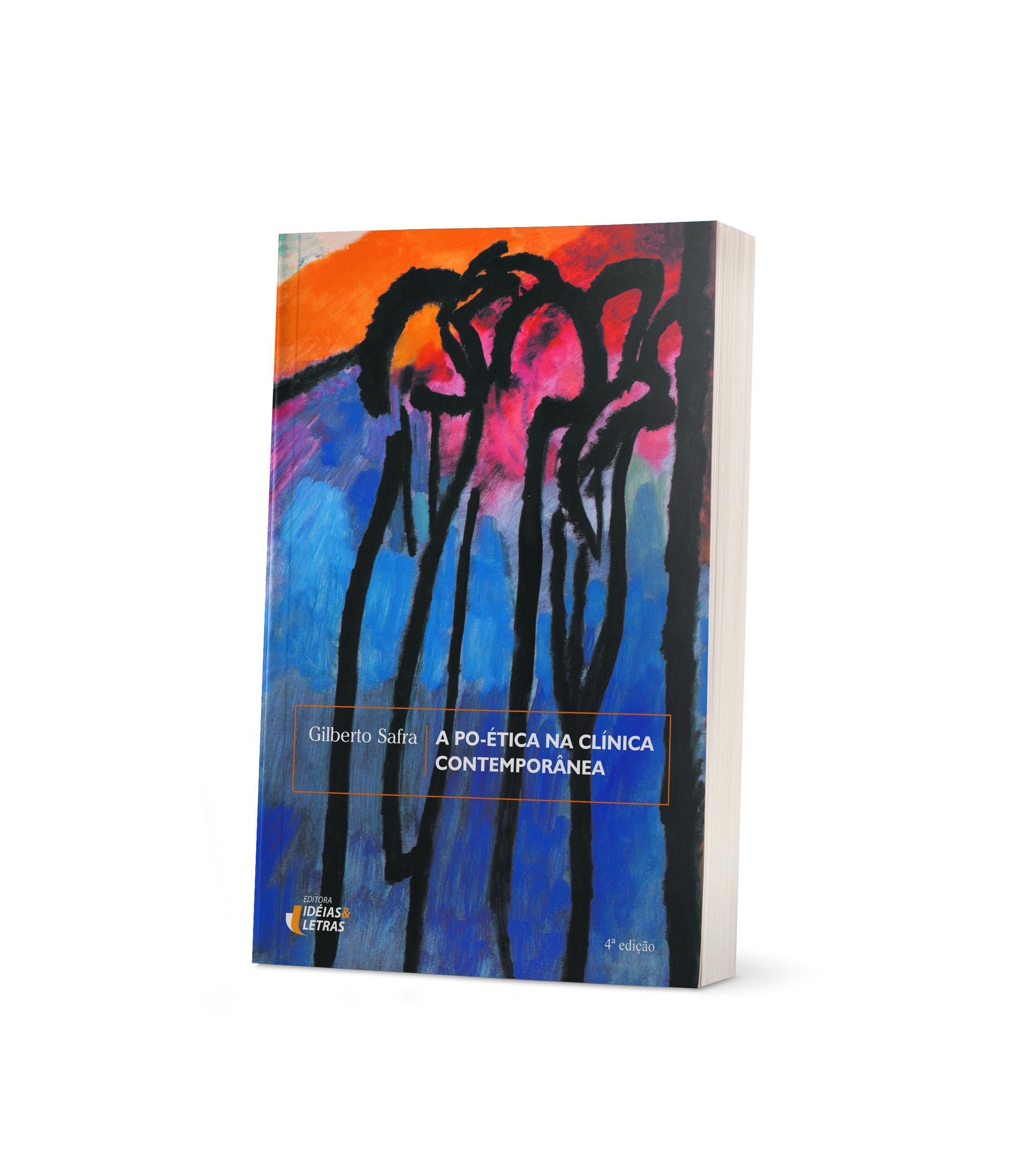 Mockup do livro A po-ética na clínica contemporânea