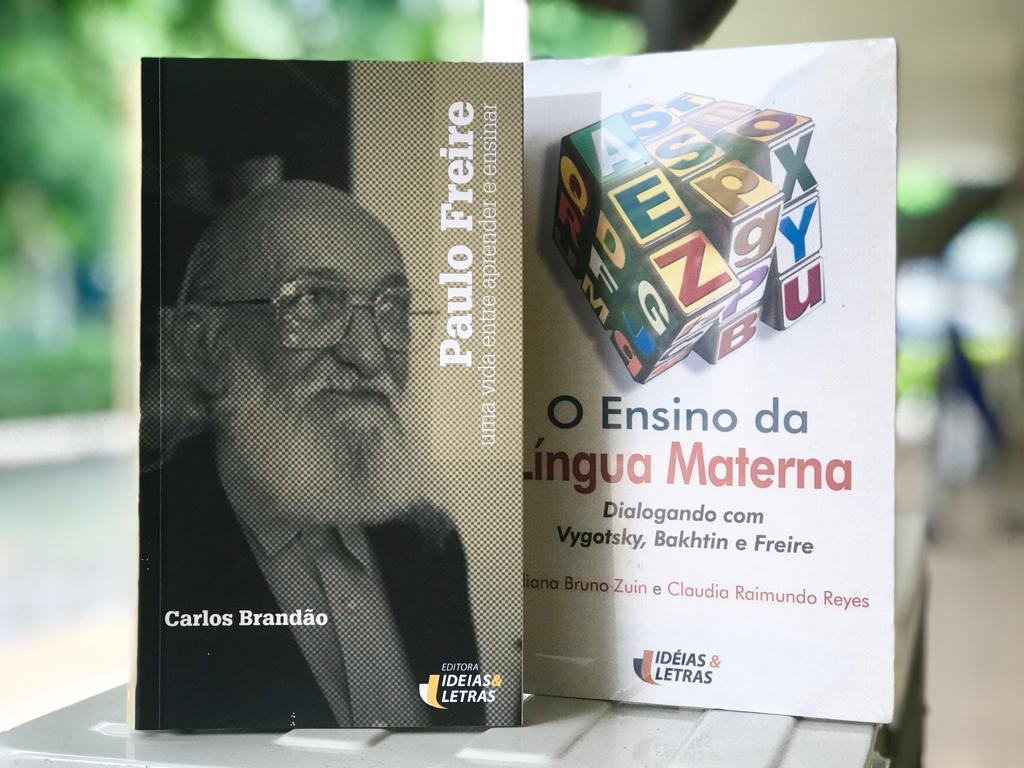 Livros da Editora Ideias & Letras que falam sobre Paulo Freire
