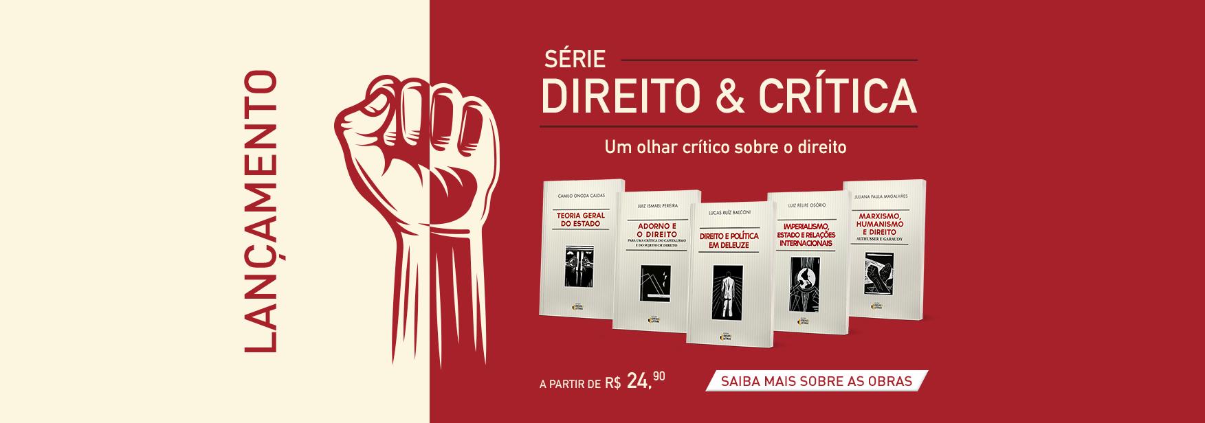 Livros da série Direito e Critíca