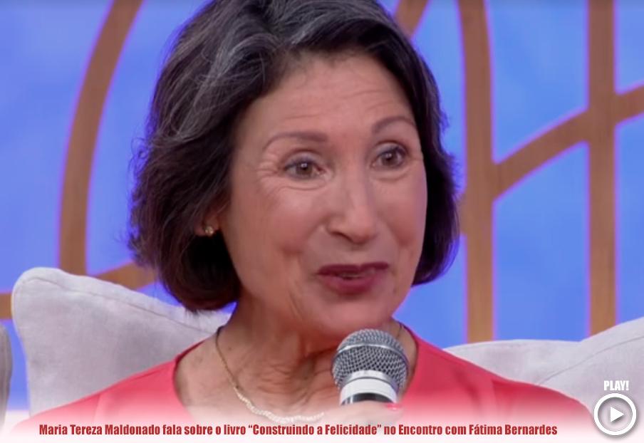 Maria Tereza Maldonado participa do Programa Encontro com Fátima