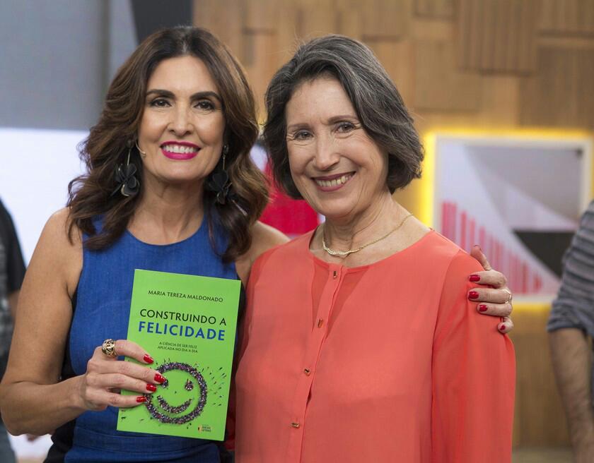 Maria Tereza Maldonado e Fátima Bernardes